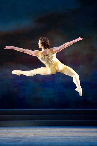 Sergei Polunin in action.