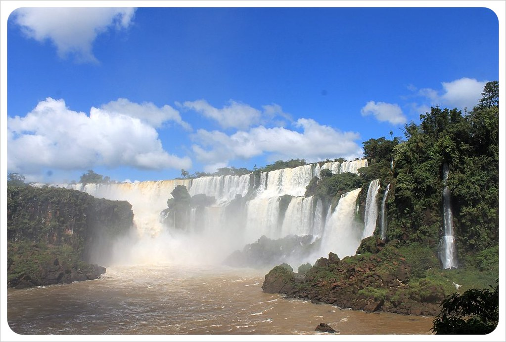 iguazu falls waterfalls