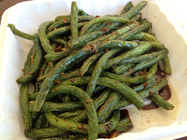 how to make garlic string beans