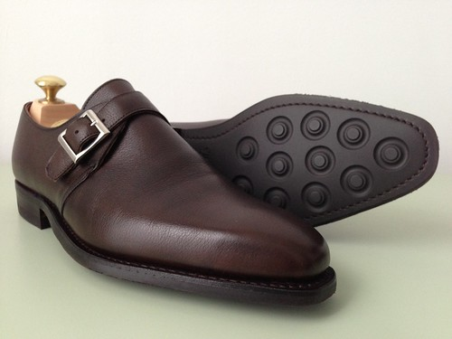 Crockett & Jones Monkton monkstrap