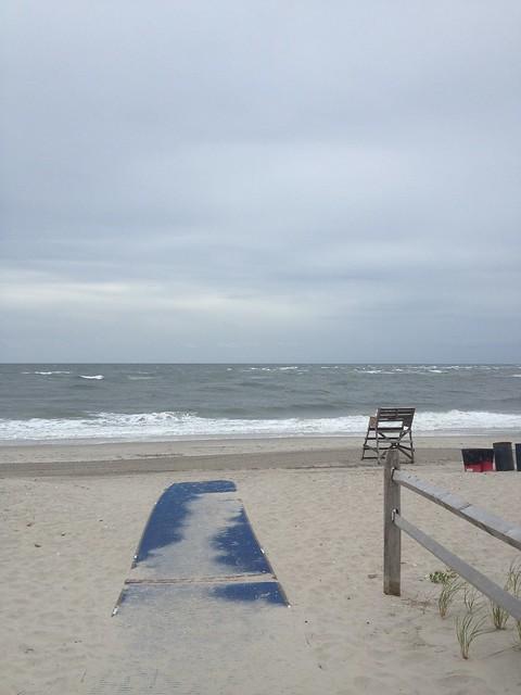 89th Street beach access