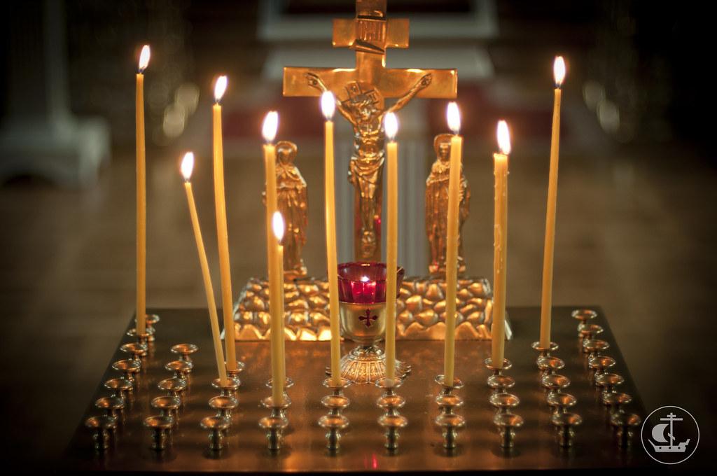5 сентября, Заупокойная лития в день 35-летия кончины митрополита Никодима