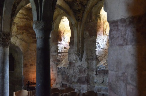 Memleben (Saxe-Anhalt), crypte de l'abbatiale - 02
