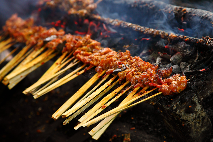 Grilling-Sate