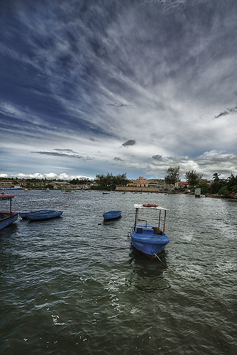 Gibara port by Rey Cuba