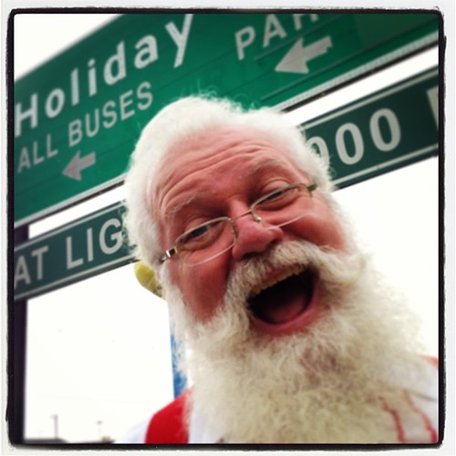 Santa Claus at Holiday World