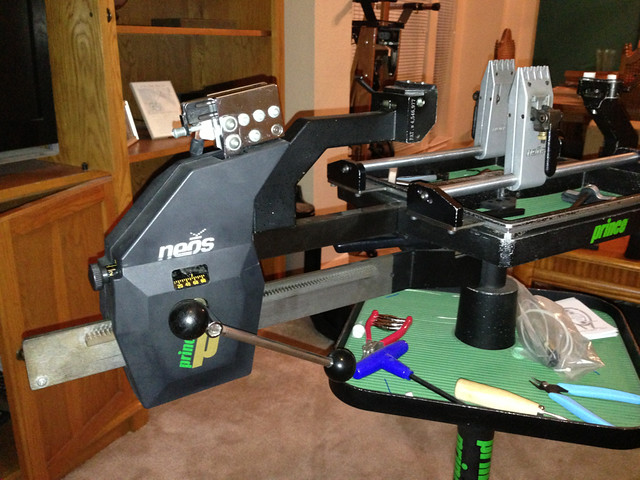 prince neos 1000 stringing machine