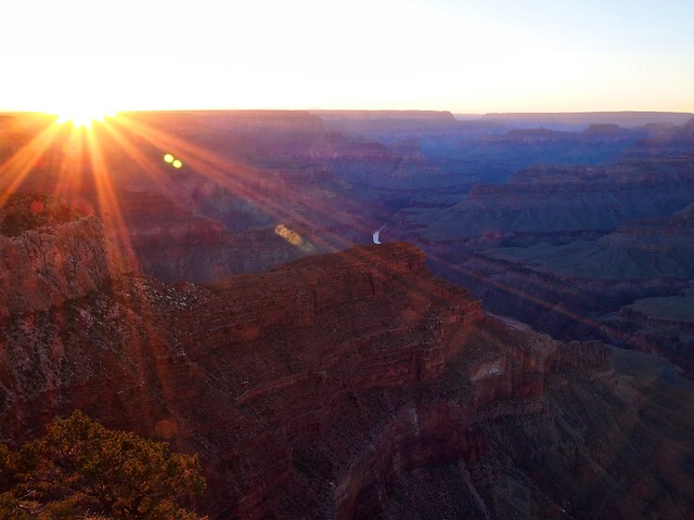 Sunset on Grand Canyon