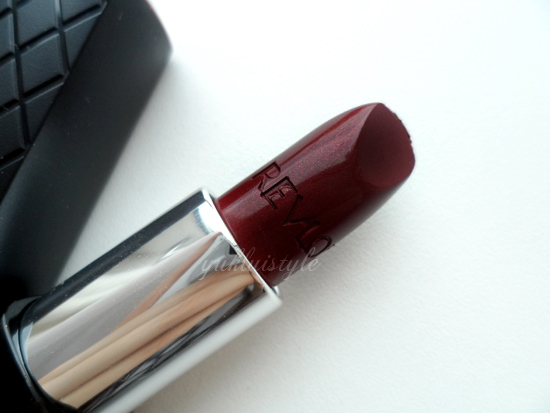 Revlon ColorBurst Lipstick in Plum review and swatch