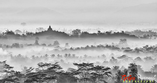 Borobudur from Setumbu hill