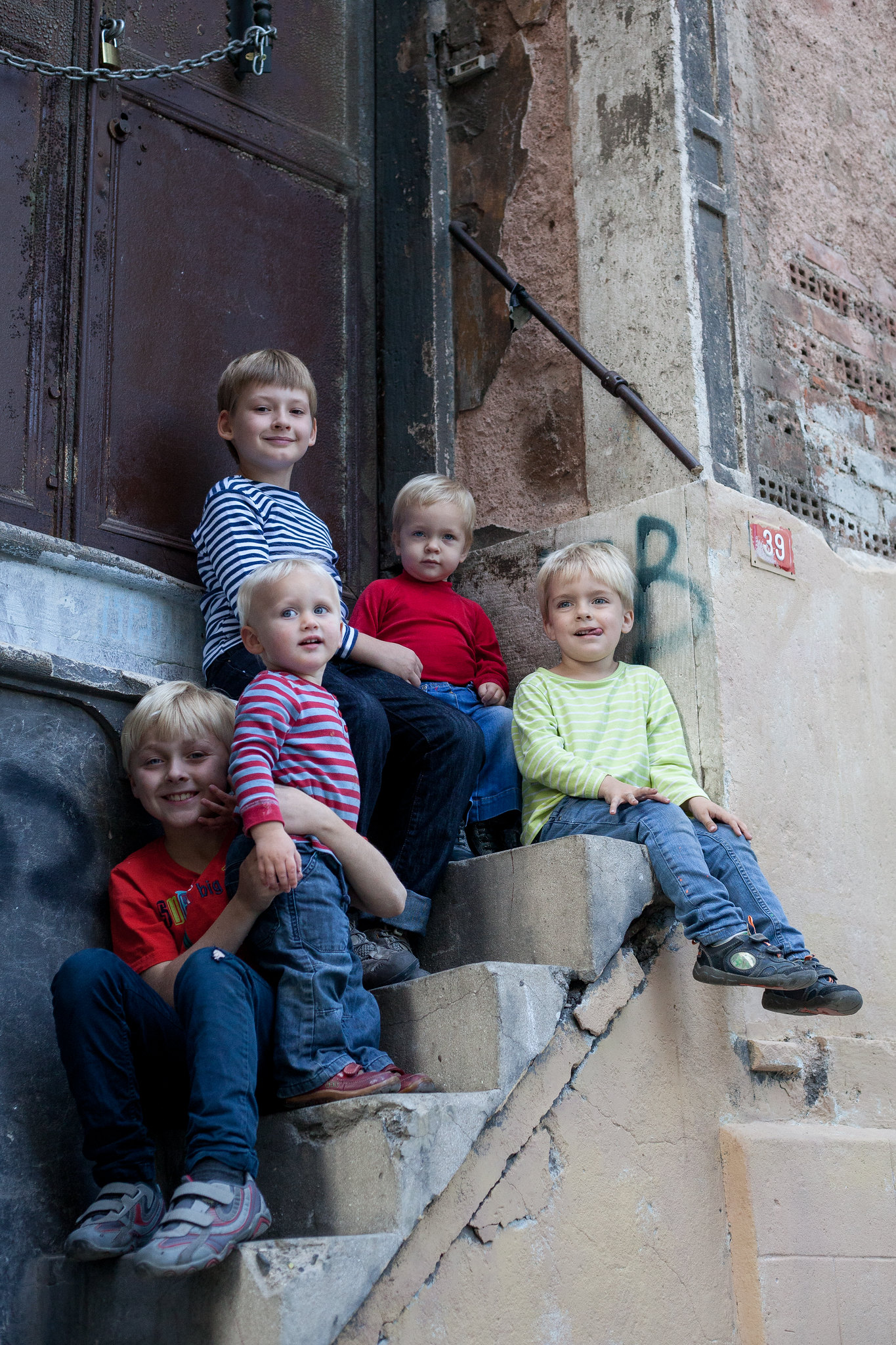 5 of our 8 kiddos.