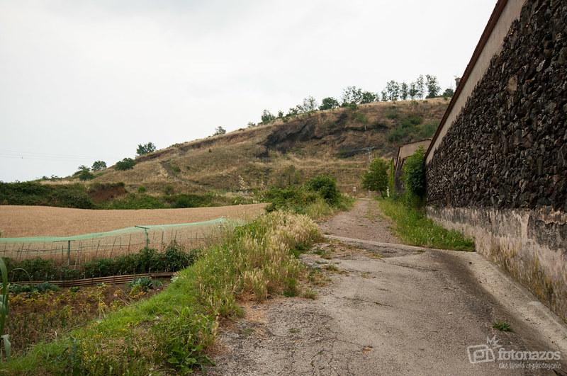 El volcán Montsacopa de Olot