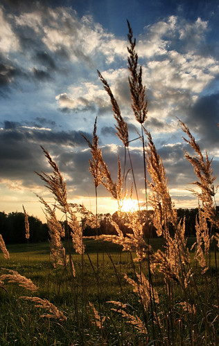 sunset západ