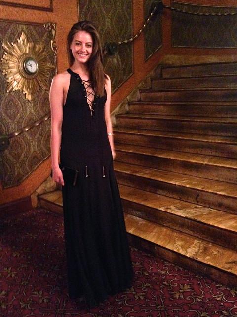 black maxi dress 2