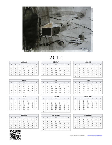 2014 Calendar - Traces