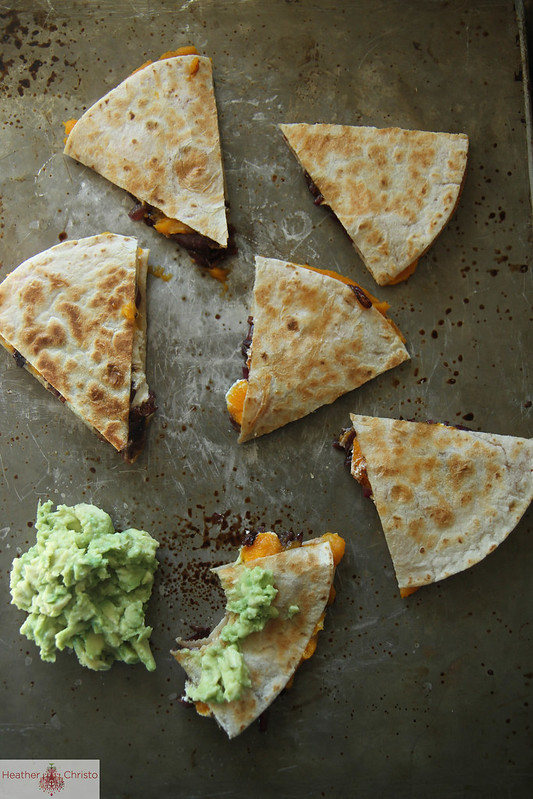 Butternut Squash and Goat Cheese Quesadillas