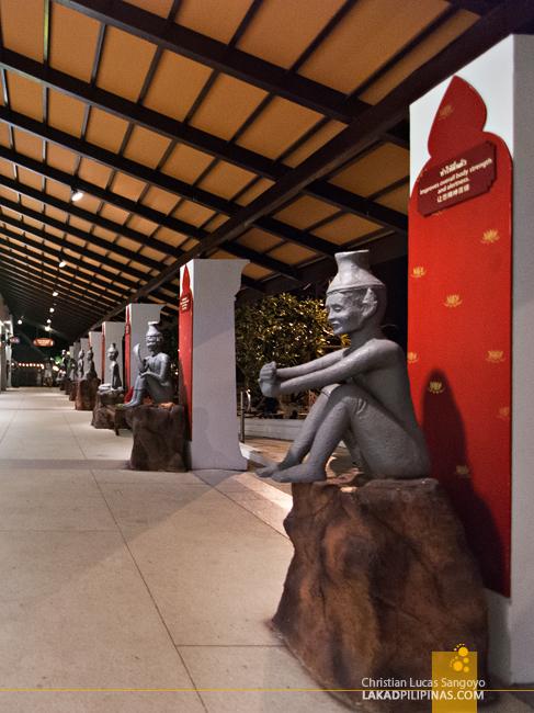 At Phuket's Siam Niramit Complex