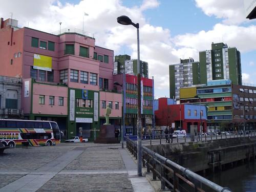 різнокольорові будиночки Ла Боки