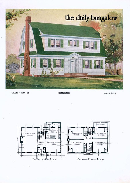 1920 Building Service House Plans   Flickr - Photo Sharing!
