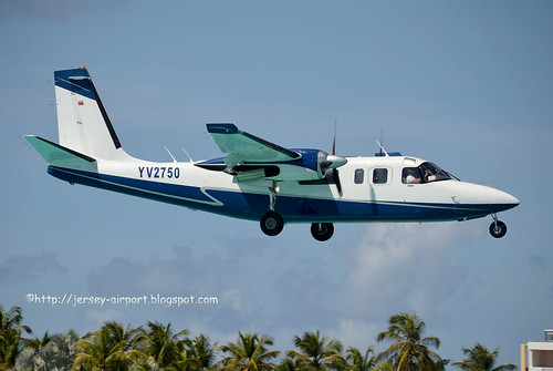 YV2750 Aero Commander 681 by Jersey Airport Photography