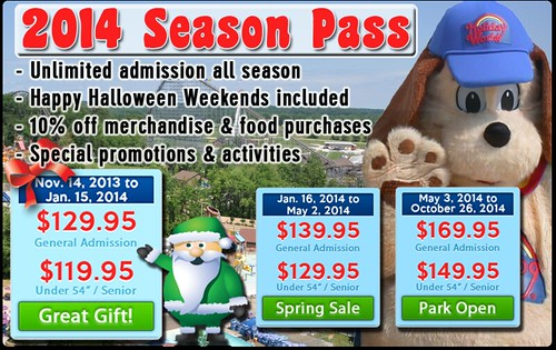 Holiday World's Season Passes