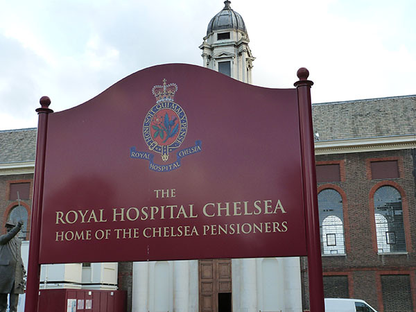 home of chelsea pensioners