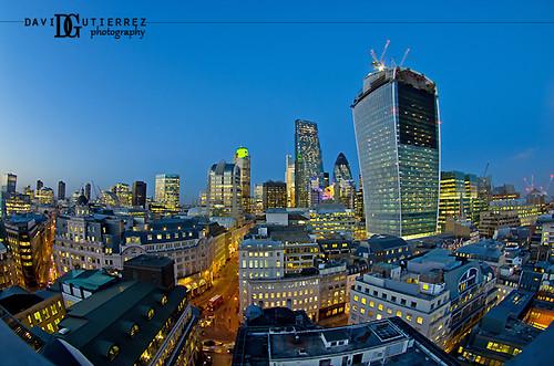 London Blue Hour by david gutierrez [ www.davidgutierrez.co.uk ]