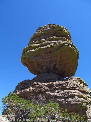 The Big Balanced Rock from behind, Chiricahua National Monument, Arizona