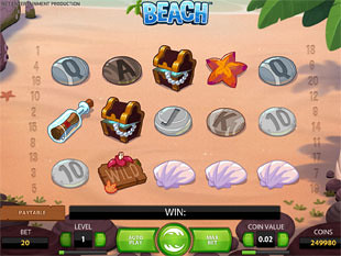 Beach slot game online review