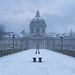 Pont des Arts / snow by A.G. Photographe