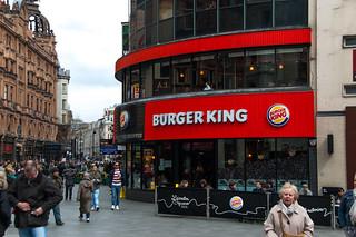 Pause à Burger King ! :D
