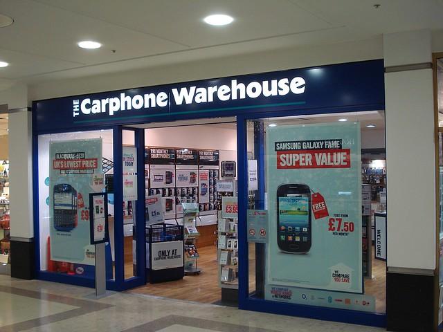 Carphone Warehouse Unit  Island Retail Park Westgate Street Gloucesterglru