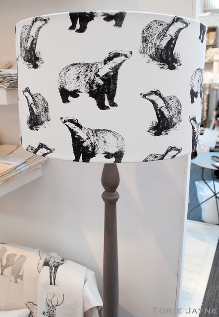Whinberry & Antler lampshade