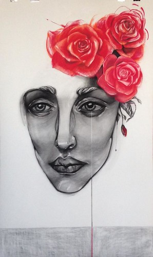 Women in Art IX. there were roses.