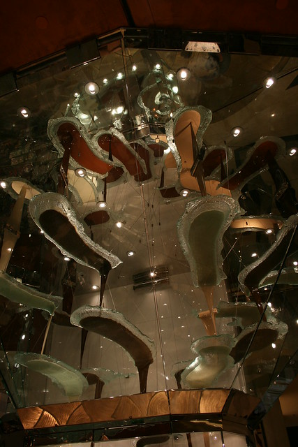 World's Largest Chocolate Fountain in Las Vegas, Nevada