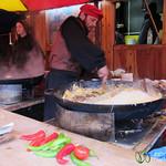 Spätzle Time at the Esslingen Christmas Market - Germany