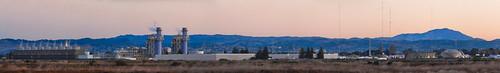 california morning panorama color sunrise nikon industrial december large panoramic bayarea hayward d200 stitched 2013