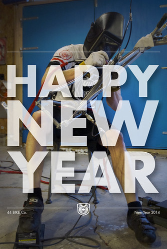 Happy New Year by 44 Bikes