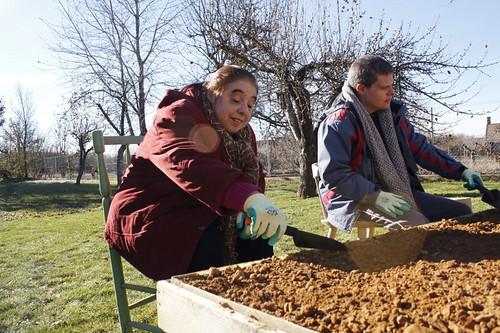 Sesión diciembre '13 con ASPRONA _ Fundación Cerezales