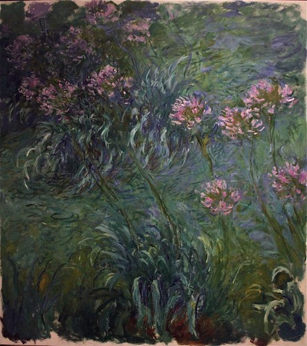 """Agapanthus"" by Claude Monet, 1914-26"