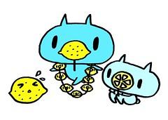 レモンノーズとスライスレモンノーズとすっぱレモン