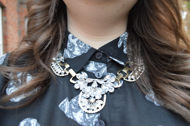 a picture of a statement necklace