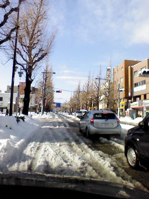 東京的大混乱  大雪 - naniyuutorimannen - 您说什么!