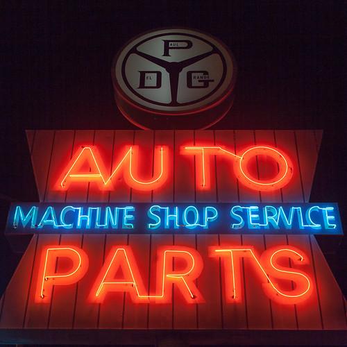 Auto Parts Machine Shop Service