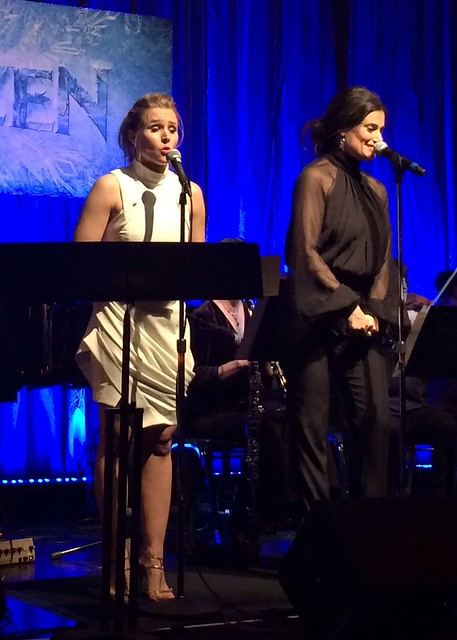 "Kristen Bell and Idina Menzel sing ""For The First Time In Forever"" from Disney's Frozen Live"