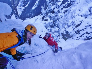 Silly Girls Ice Climbing New Funtier