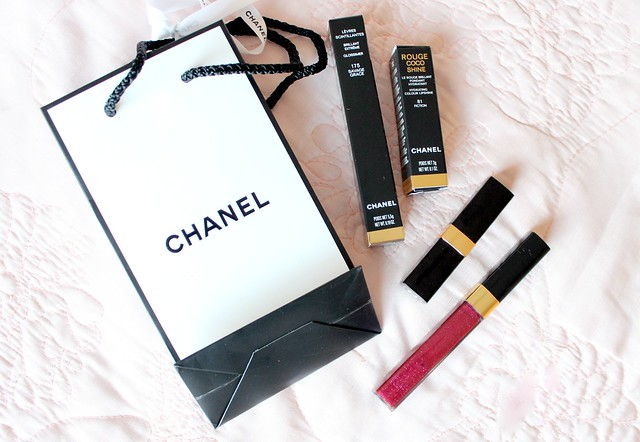 Chanel Lipstick and Lipgloss Review