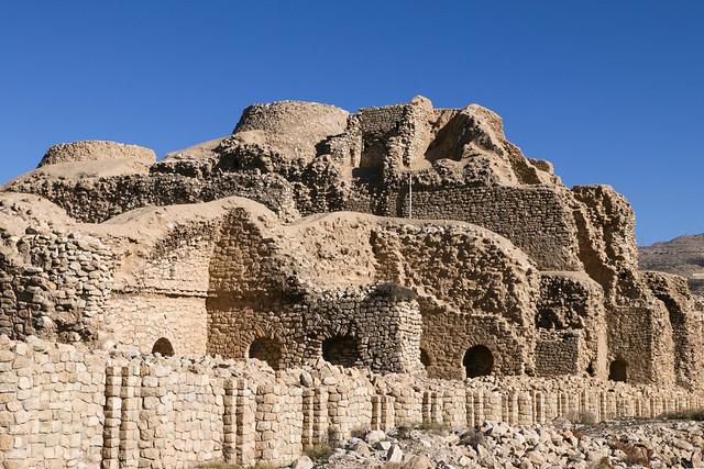 Palace of Ardashir, Iran アルダシール宮殿外観