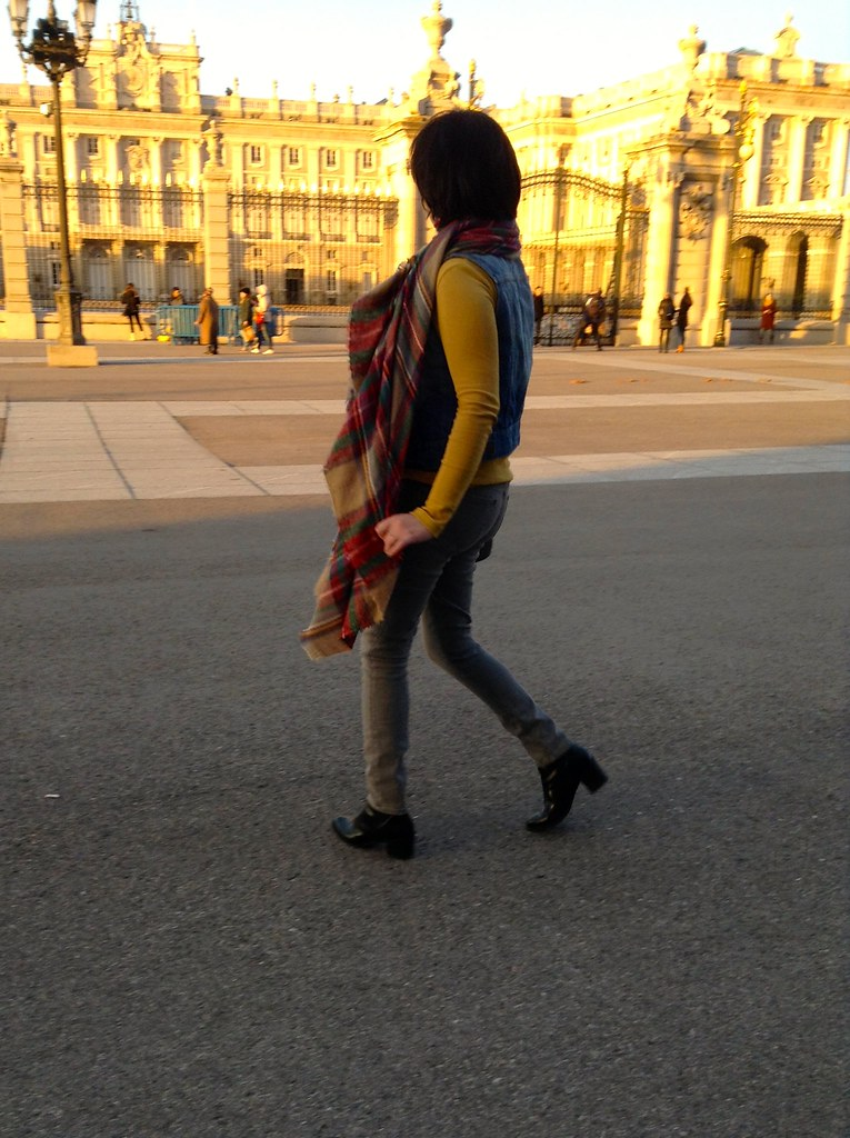 Palacio Real, Madrid, España - Outfit of the Day - OOTD