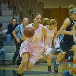 2014-02-48 -- Women's basketball vs. Elmhurst. Annual Pink Zone game.